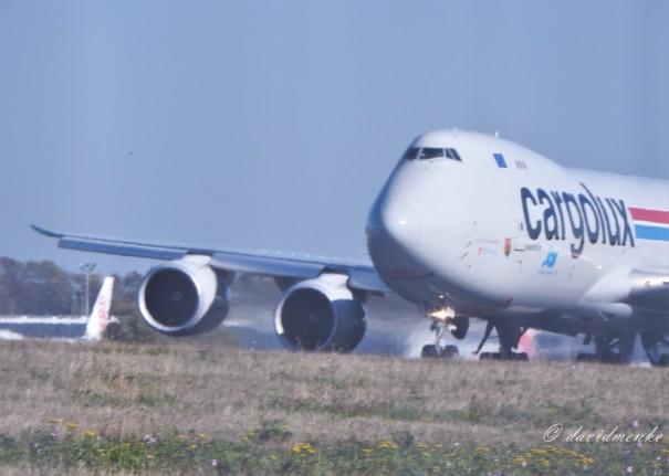 Cargolux Departure @ Luxembourg Airport (ELLX)