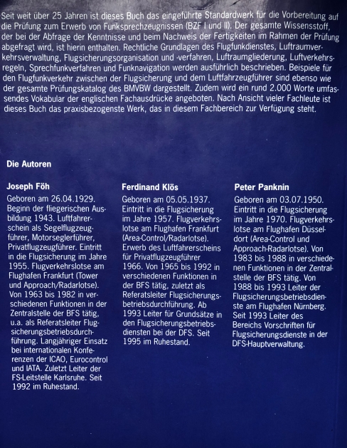 Sprechfunk im Sichtflug - BZF1&2